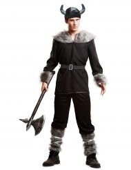 Disfarce viking preto homem