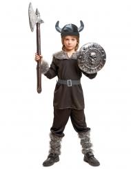 Disfarce viking preto menino