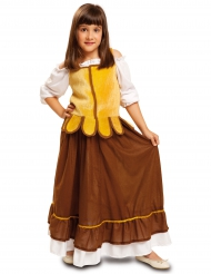 Disfarce de taberneira medieval menina