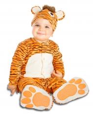 Disfarce tigre com chupeta luxo bebé