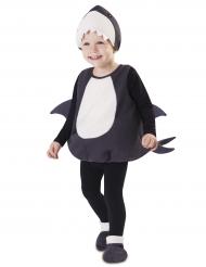 Disfarce tubarão bebé