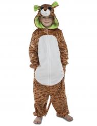Disfarce macacão tigre criança