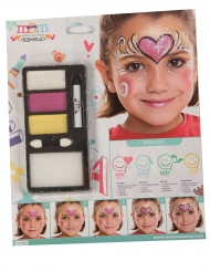 Maquilhagem princesa pérola menina