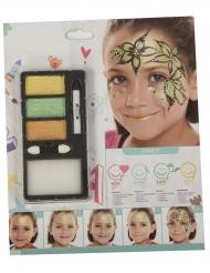 Maquilhagem princesa floresta menina