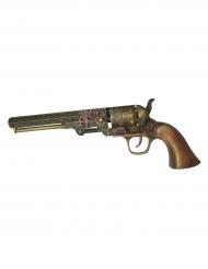 Revólver 25 cm Steampunk