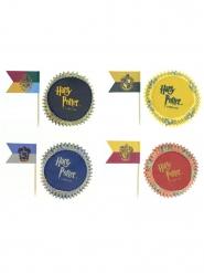Lote de 100 decorações para cupcakes - Harry Potter™