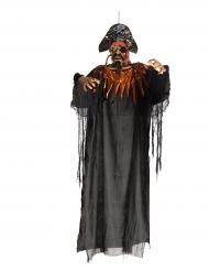 Decoração suspensa pirata luminoso 170 cm Halloween