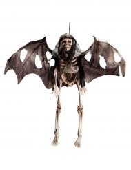Esqueleto voador para pendurar Halloween