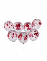 8 Balões sangrentos Halloween