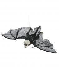 Decoração para pendurar equeleto voador Halloween