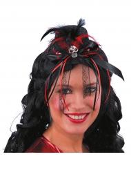 Mini chapéu Dia de los muertos mulher