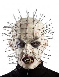 Máscara monstro com agulhas adulto Halloween