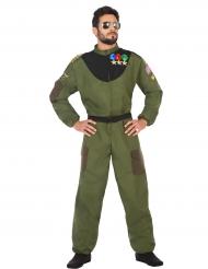 Disfarce piloto militar homem