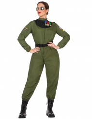 Disfarce piloto militar mulher