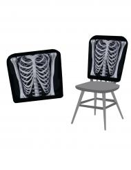 Capa de cadeira esqueleo 38 x 48 cm Halloween