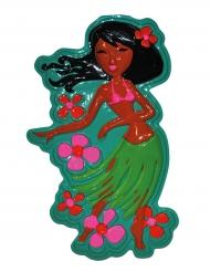 Decoração dançarina havaiana