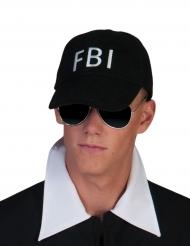 Boné FBI preto adulto