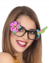 Óculos de verão havainos adulto