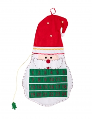 Calendário do advento de feltro Natal