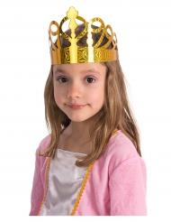 6 Coroas de papel dourado