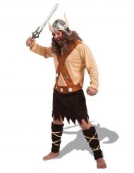 Disfarce viking com polainas homem