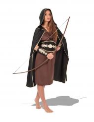Disfarce guerreira caçadora mulher