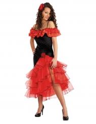 Disfarce dançarina espanhola mulher