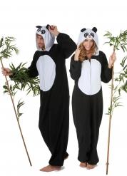 Disfarce de casal panda adulto