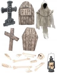 Pack Esqueleto luxo Halloween