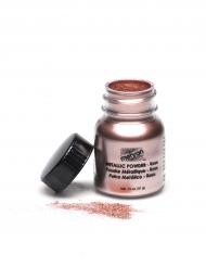 Pó brilhante profissional efeito metal cor-de-rosa Mehron 14g
