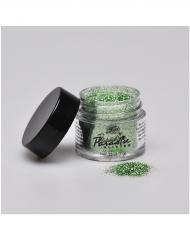 Pó de purpurinas cor verde profissional Mehron 7 g