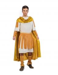 Disfarce imperador romano dourado homem