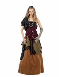 Disfarce viking mulher