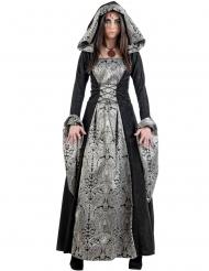 Disfarce princesa gótica mulher