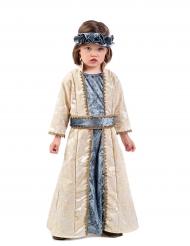 Disfarce princesa medieval menina