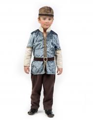 Disfarce príncipe medieval menino