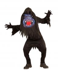 Disfarce gorila cabeça grande adolescente Halloween