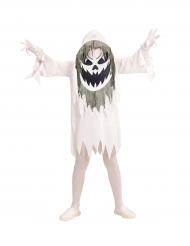 Disfarce fantasma demoníaco adolescente Halloween