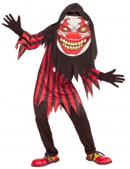 Disfarce palhaço cabeça grande adolescente Halloween