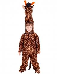 Disfarce girafa criança