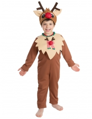 Disfarce Rena de Natal criança