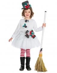 Disfarce boneca de Natal menina