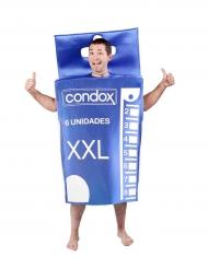 Disfarce caixa de preservativos adulto