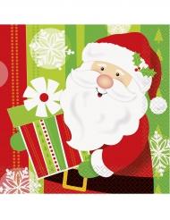 16 Guardanapos de papel Pai Natal