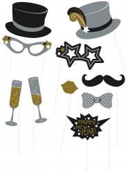 Kit Photobooth Happy New Year