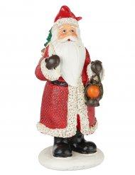 Pai Natal em resina 13 cm