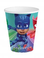 8 Copos de cartão azul PJ Masks™