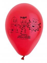 8 Balões vermelhos de látex Pj masks™