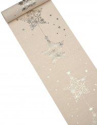 Caminho de mesa Estrelas de Natal