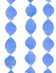Grinlada com franjas de papel azul